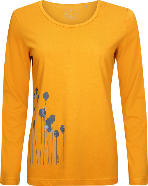 Elkline Posy Langærmet T shirt Damer, mais